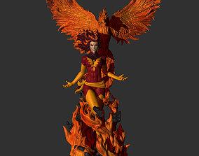 Fan Art - Dark Phoenix - Jean Grey 3D print model