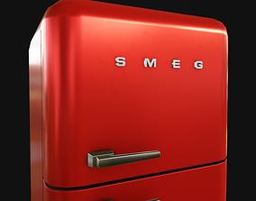 Fridge SMEG 3D asset realtime