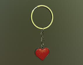 3D model Keychain Heart