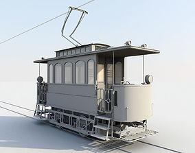 VR / AR ready Tram 3dmodel