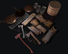 3D asset Butcher Set 2 0