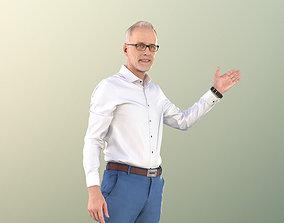VR / AR ready Male Teacher Presentation 3Dhuman - 11250