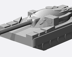 3D printable model British Cheiftain Battletank 6mm Scale