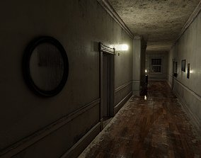 HQ Modular RE Mansion 3D model