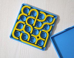 Puzzle Crazy curves 3D print model