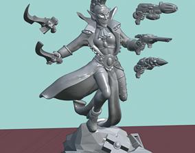 3D print model Elven Carnivale Leader