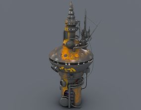 Radio Tower 2076 3D