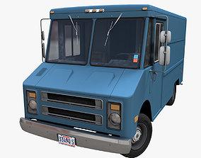 3D model Industrial Step Van