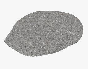 Pavement Section - 8K Scan 3D asset