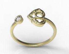 ring ruby 3D printable model Ring