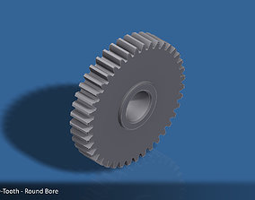 40-Tooth Spur Gear 03 3D printable model