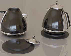 Contemporary colourful kettle1-black 3D model