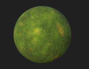 Moss PBR Texture 3D