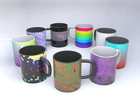 3D Patterned mug