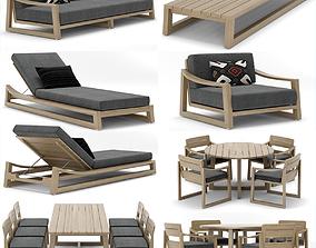 RH Outdoor Sebastian collection 3D
