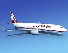Boeing 737-800 Cargo One 3D model