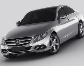 3D Mercedes C Class 2014 avantgarde