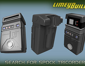 3D print model Search for Spock Tricorder replica