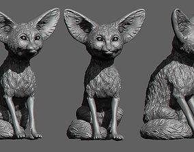 3D printable model Vulpes zerda Fox