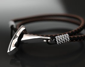 Tesla wire hook pendant or 3D printable model