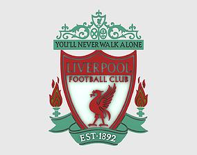 3D model Liverpool Logo