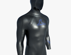 3D model Diving wetsuit