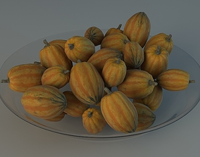 3D PBR Decorative Pumpkin digital3d