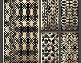 Decorative panel set 63 3D model