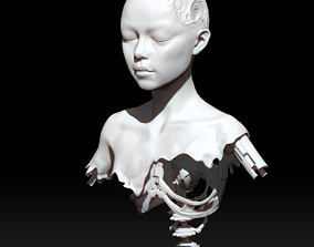 3D printable model alita battle angel scrap