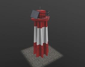 3D asset Light House West Mall