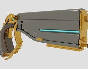 Lato Prime Pistol 3D model