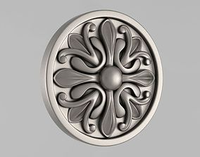 Decor Rosettes 3D printable model details