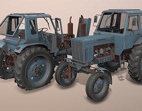 3D model MTZ-80 tractor