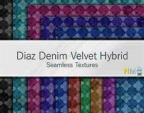 Diaz Seamless Textures Set 3D model
