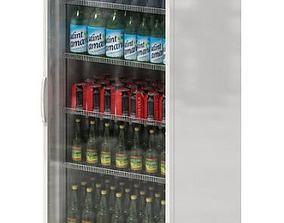 3D model Cold Drinks Vending Machine