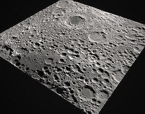 Moon Surface 3D asset