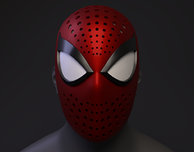 Spider-Man PS4 Classic Faceshell 3D Printable
