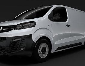 3D Opel Vivaro Van L3 2020