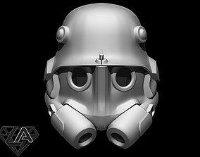 wolfenstein infantry 46 helmet 3D print model