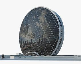 3D model Aldar headquarters building