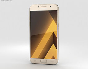 Samsung Galaxy A5 2017 Gold Sand 3D model