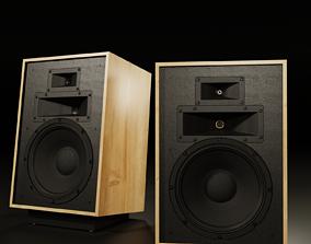 3D model KLIPSCH Heresy IV Floorstanding Speaker - 4