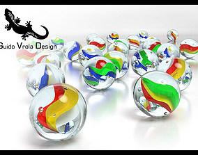 3D model Marbles