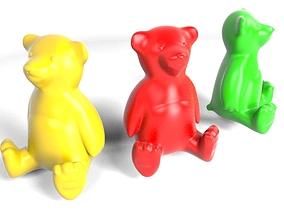 Teddy Bear Mold Cast 3D print model