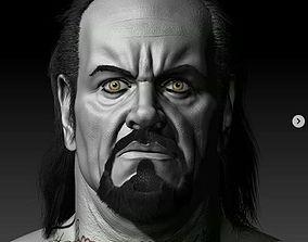 3D print model undertaker head