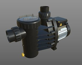 3D model game-ready Speck Badu Magic Filter Pump