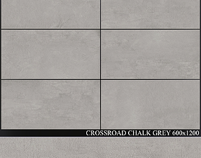 3D ABK Crossroad Chalk Grey 600x1200