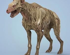3D model realtime Fantasy Zombie Hyena