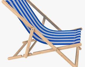 3D model realtime Beach Chair