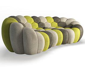 sofa 3D Bubble Sofa 3 Seats